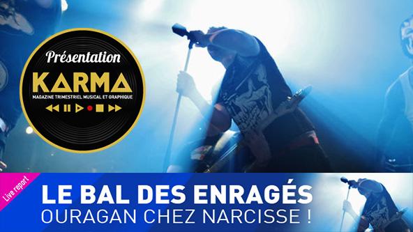 Concert - Chez Narcisse - Le bal des Enragés - Live Report